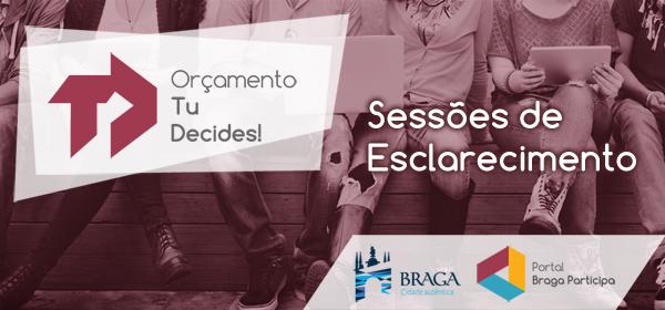 Município promove sessão de esclarecimento sobre 'Tu Decides!'